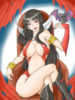 Vampirella by Ray-D-Sauce