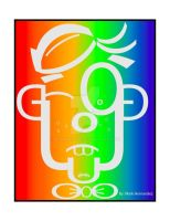 Type Face Rainbow by Bloodrican
