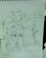 Rayman:Storm day.. by amberday