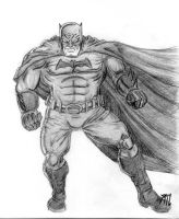 Batman viejo 2012 - Old Batman 2012 by YamTorresIlustrador