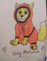 South Park Wolves: Kenny McCormick :) by XxKewonaWolfxX