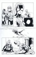 Spider-girl sample page by TonyKordos