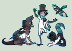 Magpie inspired by griffsnuff