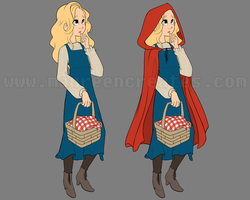 16072013 little red riding hood by maureencreates