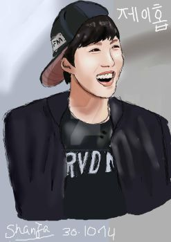 BTS J-Hope by FizLovesManga