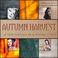 Autumn Harvest Icon Textures by jordannamorgan