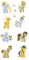 Derpy Doc Foals by woofwoofsg1