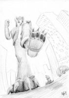 Imminent Stomp [Gift Request Sketch] by Alef-GP