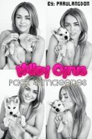 PACK PHOTOSHOOT 2012 MILEY CYRUS! by paaulangdon