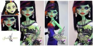 MH Casta Fierce repaint #2 ~Casta~ by RogueLively