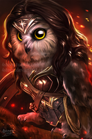 Justice League - Wonder Owl by 4steex