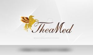 Theamed logo by salwassim