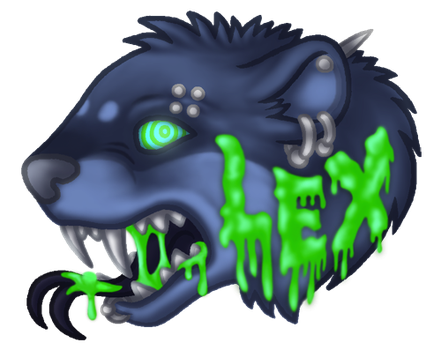 Lex - BLFC Badge by lexblue
