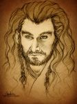 Thorin Oakenshield by AngieParadiseeker