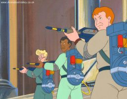 Hand Painted Ghostbusters Production Animation Cel by AnimationValley