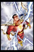 Shazam Commission by ChrisShields