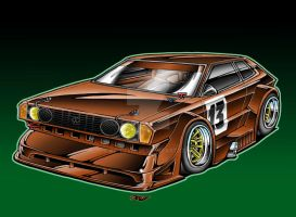 1973 VW Scirocco Race Car by Britt8m