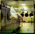 In the laundry by Allyekhrah