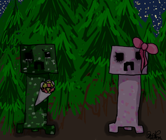 Creepers can love too by CaprySonne