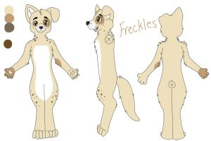 Freckles ref sheet by CamberTwinkles