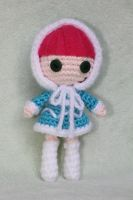 Frostfire Annie from League of Legends Amigurumi by Npantz22