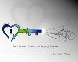 Heart Key Wallpaper by crystalbtrfly07