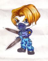 Chibi D-Dark from Street Fighter EX by ryuforever