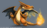 DAY 294. MegaCharizard by Cryptid-Creations