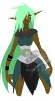 Unnamed Elf - Flats by Dreamer-Of-Ravens