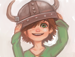 Young Hiccup by hiraco