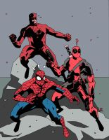 MARVEL RED TEAM 2012 by future-parker