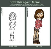 Draw This Again: January-September by Asterismo