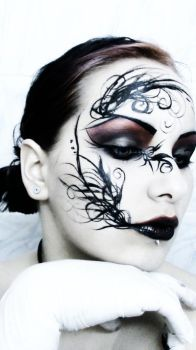 some kind of face painting by darkbylarissa