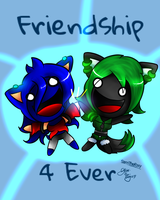 -Collab- FRIENDSHIP 4 EVER! by lilliganto
