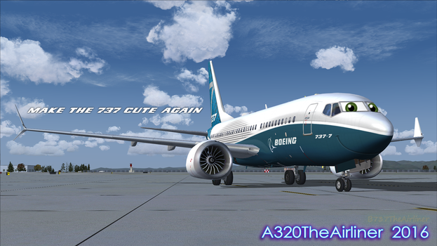 Little Maxy by A320TheAirliner