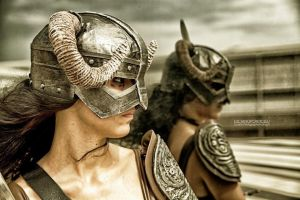 Cosplay Skyrim by FlorindaZanetti