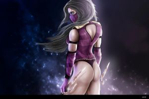 Mileena by Dyfus