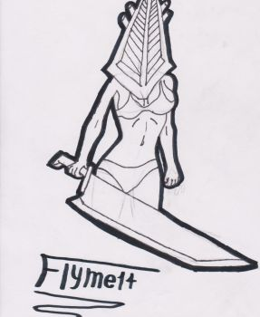 Bikini Pyramid Head by flyme14-avenged