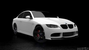 BMW M3 e92 studio R1 by uros3D