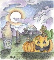 All Hallow's Eve by Spiralpathdesigns