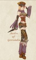 Aeslin of Gev: Purple by celyne