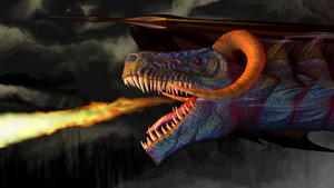 Nuther  Dragon by Wee-Froggy