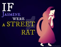 If Jasmine were a STREET MOUSE by MIKEYCPARISII