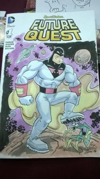 Space ghost Blank Cover by POLO-JASSO