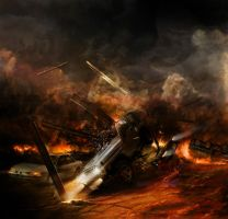 Chronoscape- highway to hell by alexiuss