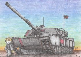 M1A1Abrams Tank AMA ver by Patoriotto