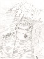 Drowned Tower by Sabakakrazny