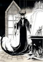 Maleficent by 6nailbomb9