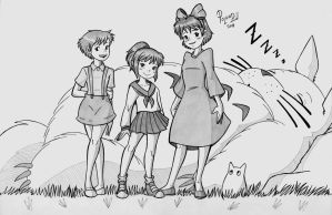 Ghibli Girls 002 by Poland73