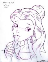 Belle Loves Dole Whip by Anime-Ray